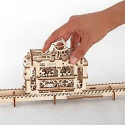 UGEARS MECHANICAL MODELS TRANViA CON RAILES REF.70008