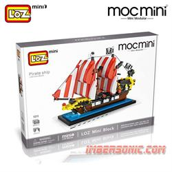 LOZ MOCMINI COD.1211 PIRATE SHIP
