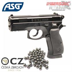 PISTOLA CZ75D COMPACT 4.5MM. CO2 BBS ASG16086