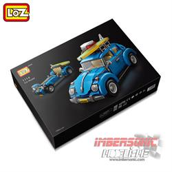 LOZ CAR MODEL VOLKWAGEN BEETLE 1.392 PZAS. CÓD.1114