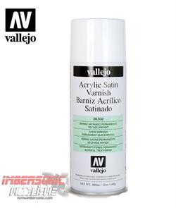 VALLEJO BARNIZ SPRAY SATINADO 532-400ML CÓD. 28.532