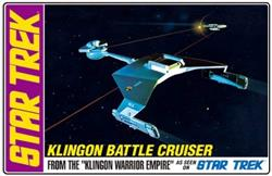 MAQUETA amt star trek klingon battle cruiser AMT720-12