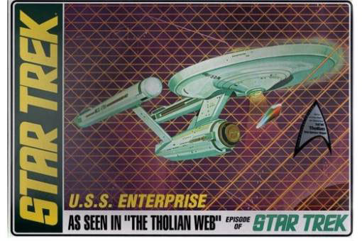 MAQUETA AMT STAR TREK U.S.S. ENTERPRISE AMT695
