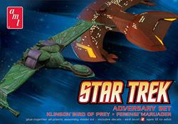 AMT MAQUETA STAR TREK ADVERSARY SET AMT752-12