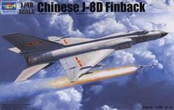 TRUMPETER CHINESE J-8D FINBACK 1.48. Cód.02846