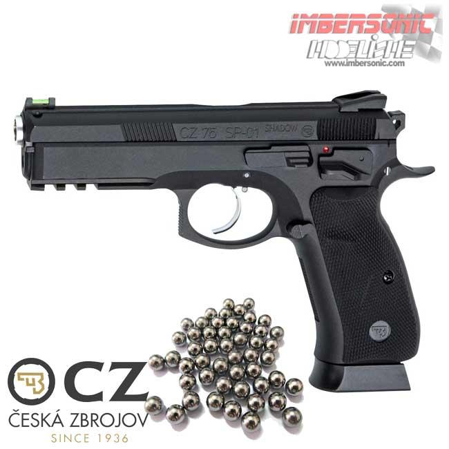 PISTOLA CZ SP-01 SHADOW Blowback - 4,5 mm Co2 Bbs Acero COD18396