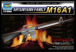 TRUMPETER AR15-M16-M4 FAMILY M16A1 COD.01903