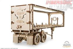 UGEARS MECHANICAL MODELS REMOLQUE PARA TRAILER 70057