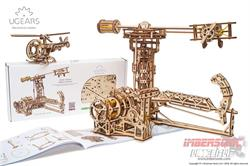 UGEARS MECHANICAL MODELS AVIADOR 70053