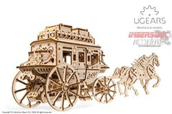 UGEARS MECHANICAL MODELS DILIGENCIA POSTAL 70054