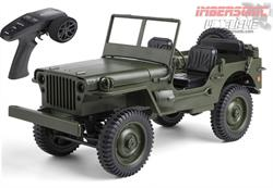 JEEP WILLYS RADIO CONTROL C606