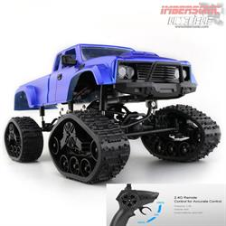 COCHE RC ROCK CRAWLER PICK UP ORUGA 1.16 15Kmh. (Brushed)