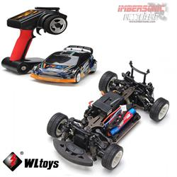 COCHE ELECTRICO RTR 1.24 RALLY 4WD 2.4GHZ - WLTOYS A242