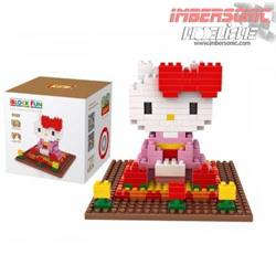LOZ DIAMOND BLOCK HELLO KITTY 9408