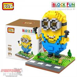 LOZ DIAMOND BLOCK MINION PIRATA 9607