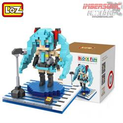 LOZ DIAMOND BLOCK HATSUNE MIKU 9535