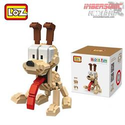 LOZ DIAMOND BLOCK ODIE DOG 9757