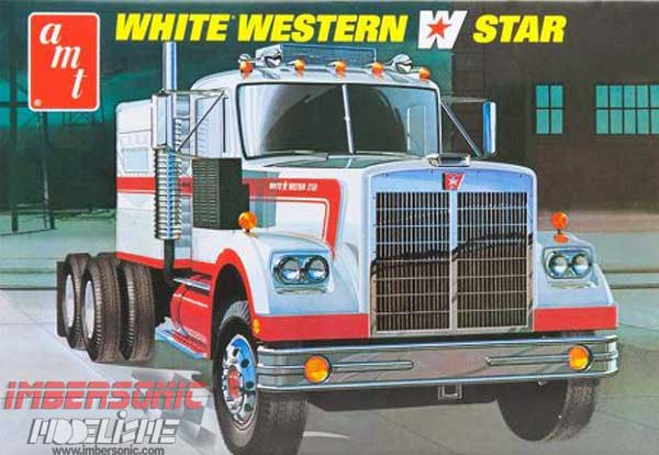 AMT MAQUETA WHITE WESTERN STAR E:1.25
