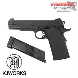 PISTOLA KJWORKS KP11 4.5MM. CO2 BB,S ACERO
