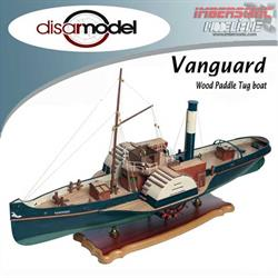 BARCO MADERA VANGUARD WOOD PADDLE TUG DISARMODEL 20151