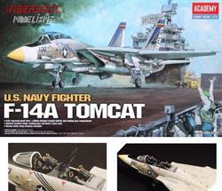 ACADEMY MAQUETA AVION U.S. NAVY TOMCAT  F-14A ref. 12253 e.1.48