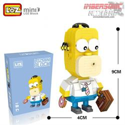 LOZ MINI BLOCK HOMER SIMPSONS 163 pzas. ref.1467