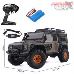 CRAWLER DEFERDER D90 Radio Control escala 1.10 Max Tiger 3