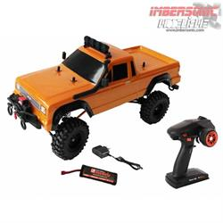 COCHE RADIO CONTROL CRAWLER DF-4S ORANGE EDICION PICK UP