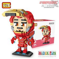 LOZ DIAMOND BLOCK IRON MAN 620pzas. ref: 9221