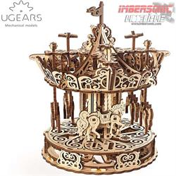 UGEARS MECHANICAL MODELS CARRUSEL 70129