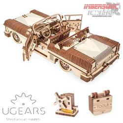 UGEARS MECHANICAL MODELS CABRIOLET DE ENSUEÑO VM-05