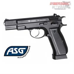 PISTOLA CO2 4.5MM. ASG CZ75 BLOWBACK CÓD.17619