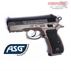 PISTOLA AIRSOFT 6MM. CZ 75D COMPACT DUAL TONE 18603