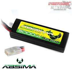 BATERIA LIPO 7.4 VOLT. 5000MAH - 25C  ABSIMA 4130014