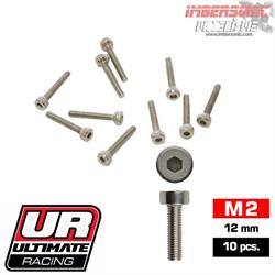 TORNILLOS ALLEN M2X12MM ULTIMATE RACING