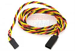 GFORCE PROLONGADOR TRENZADO CABLE SERVO JR,HITEC 90CM GF-1111-014