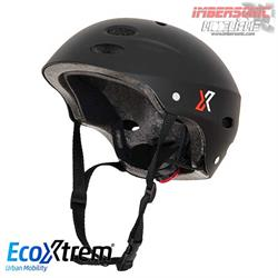 CASCO PATINETE ECOXTREM CON LUZ LED Y TRIPLE AJUSTE