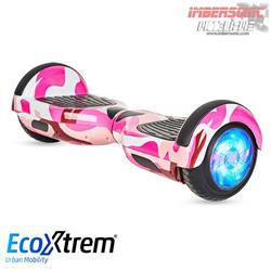 HOVERBOARD ROSA CON BLUETOOTH, ESTABILIZADOR Y LUCES LED