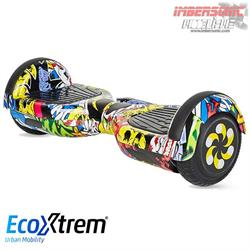 HOVERBOARD HIP HOP CON BLUETOOTH, ESTABILIZADOR Y LUCES LED